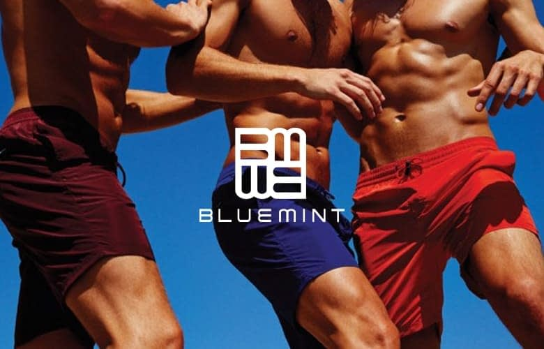 Bluemint swimwear with identity