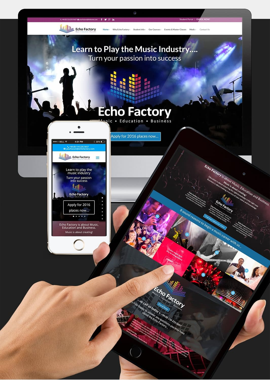 Brand identity Website Design