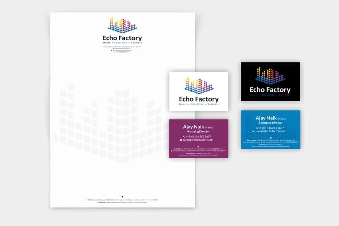 Echo Factory Stationery