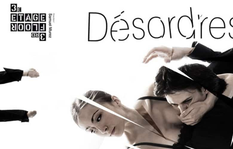 Poster design for 3e étage. A group of Soloists and dancers from the Paris O